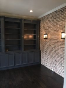 Atlanta Basement Creations, basement, trim, built-ins