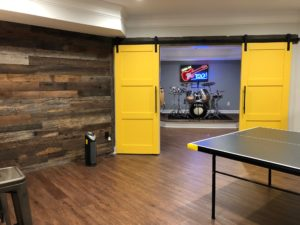 Atlanta Basement Creations, basement, game room, niche