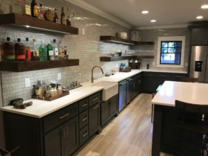 Atlanta Basement Creations, basement, kitchens