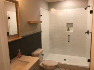 Atlanta Basement Creations, basement, bathroom