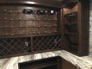 Atlanta Basement Creations, basement, wine room