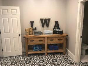Atlanta Basement Creations, basement, niche, trim, flooring & tile