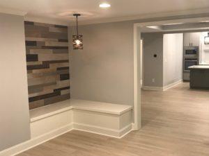 Atlanta Basement Creations, basement, trim, niche