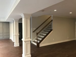 Atlanta Basement Creations, basement, trim