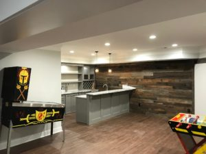 Atlanta Basement Creations, basement, kitchen