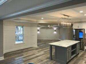 Atlanta Basement Creations, basement, flooring & tile, kitchen