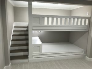 Atlanta Basement Creations, basement, bedroom