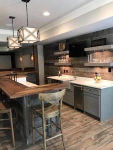 Atlanta Basement Creations, basement, bar